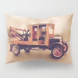 Vintage Model T Wrecker Pillow Sham