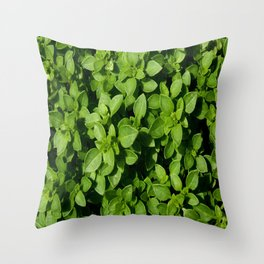 basil Throw Pillow