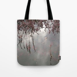 Cranberries Waiting To Be Harvested Tote Bag
