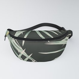 Green Palm Leaves Dream #1 #tropical #decor #art #society6 Fanny Pack