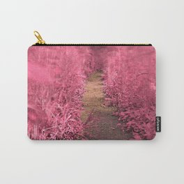 Windy Goose Creek Trail - Tickle Me Pink Carry-All Pouch