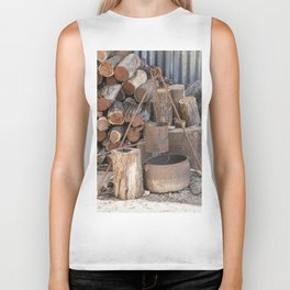 The Camp Fire Biker Tank