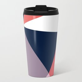 Modern Poetic Geometry Travel Mug