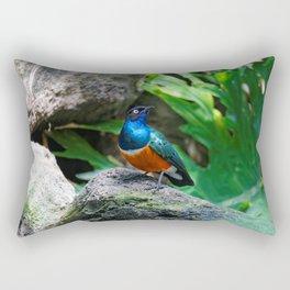 A Stunning African Superb Starling Rectangular Pillow
