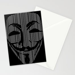Anonymous Print Stationery Cards