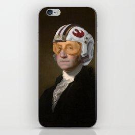 Rebel Allience General Washington iPhone Skin