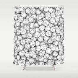 All I Want To Do Is Volleyball Shower Curtain