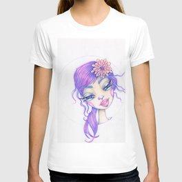 JennyMannoArt Colored Pencil Illustration/Sarah T-shirt