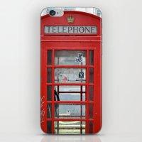 banksy iPhone & iPod Skins featuring Banksy by amandaschweer