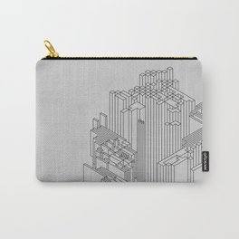 Isometrik abstract isometric art Carry-All Pouch