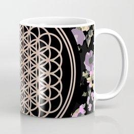 This Is Sempi-floral Coffee Mug