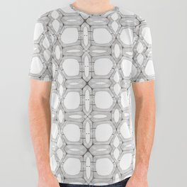 Poplar wood fibre walls electron microscopy pattern All Over Graphic Tee
