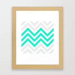 Chevronia V Framed Art Print