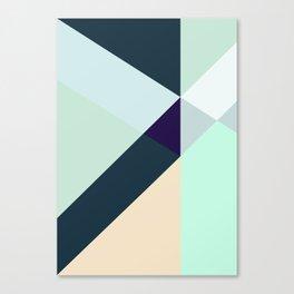 GREEN LOVES BLUE Canvas Print
