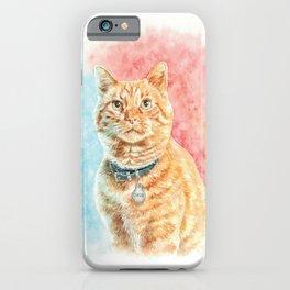 Goose The Cat iPhone Case