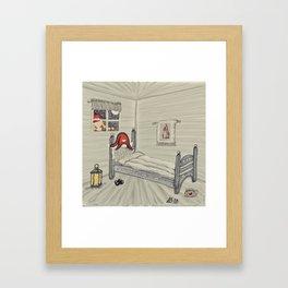 """""""Tomten Elmer"""" with a hangover. Framed Art Print"""