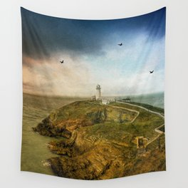 South Stack Lighthouse Wall Tapestry