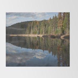 Glass Lake Throw Blanket