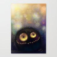 spider Canvas Prints featuring spider by Katja Main