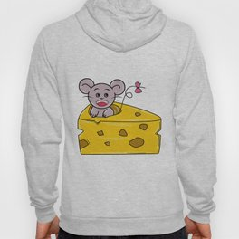 I Love Cheese Hoody