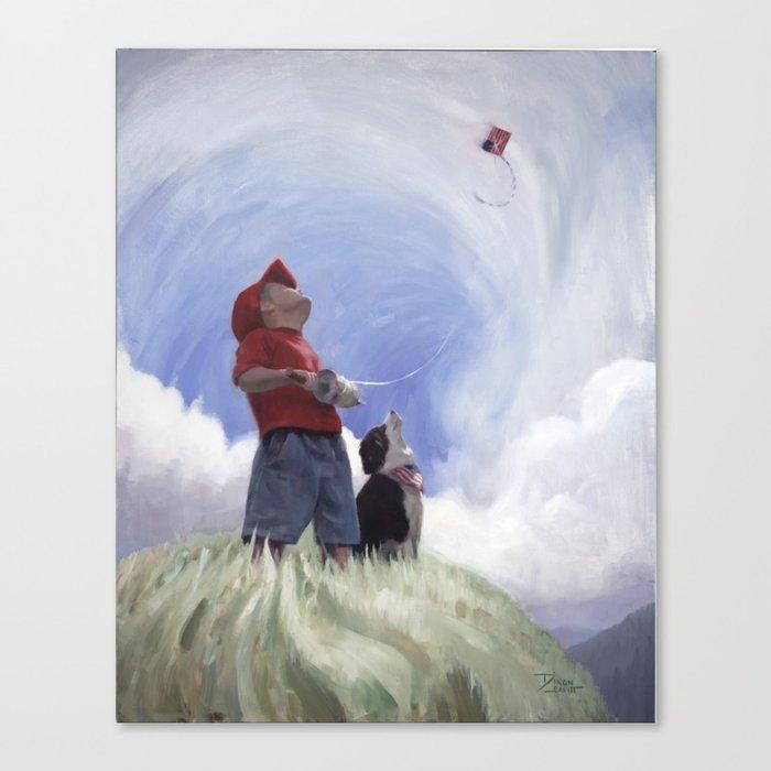 Standard Bearer Canvas Print