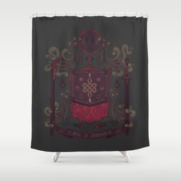 Born in Blood Shower Curtain