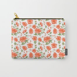 vintage floral pattern Carry-All Pouch