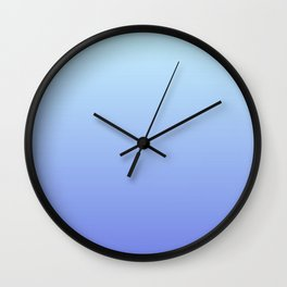 The winter gradient Wall Clock