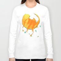 cosmos Long Sleeve T-shirts featuring Cosmos by Caitlin Victoria Parker