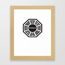 Dharma Initiative Framed Art Print
