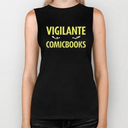 Vigilante Comicbooks Biker Tank