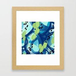 Abstract Oceana Framed Art Print