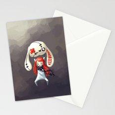 Bunny Plush Stationery Cards