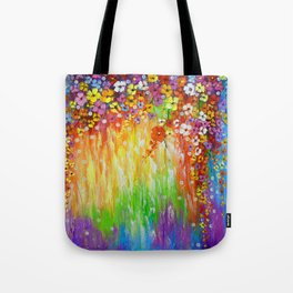 Melody of colors Tote Bag
