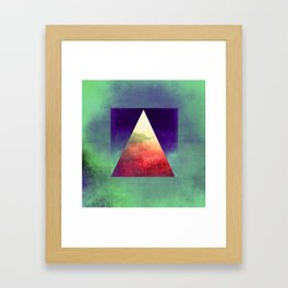 Triangle Composition VII Framed Art Print