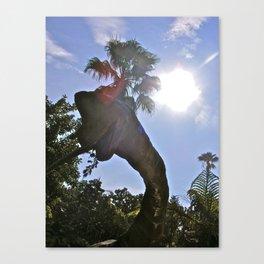 Jurassic Voyage II. Canvas Print