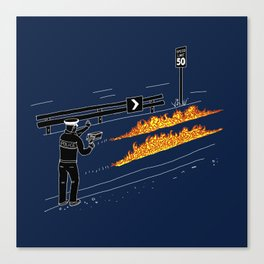 Perfect Crime Canvas Print