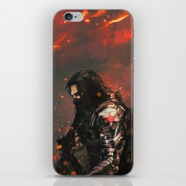 Blood in the Breeze iPhone Skin
