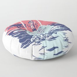 Chazbo: A Sound System Portrait Floor Pillow