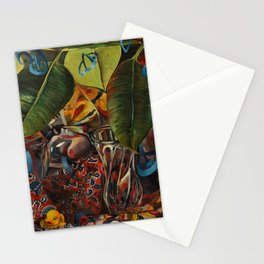 While I was staring at the gap in your teeth Stationery Cards