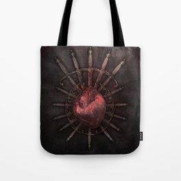 Hurt by injustice Tote Bag