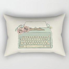 Retro typewriter Rectangular Pillow