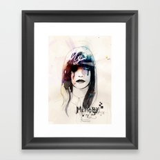 My Memory Of You Framed Art Print