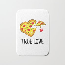 True Pizza Love Bath Mat
