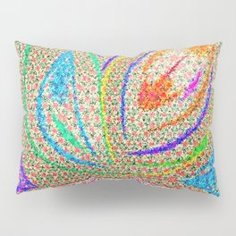 Colorful Lotus flower - uma releitura Pillow Sham