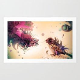 The Pathogen Art Print