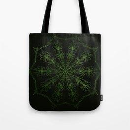 green sun Tote Bag