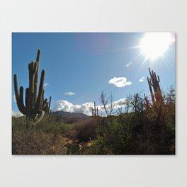 Spur Cross Ranch Canvas Print