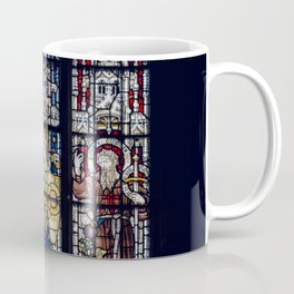 Good Knight Stained Glass Window Stratford Upon Avon England Coffee Mug