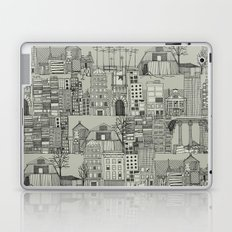 dystopian toile mono Laptop & iPad Skin